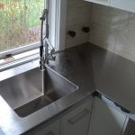 Custom stainless steel benches