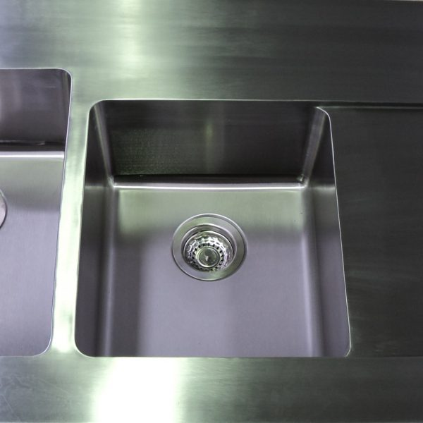 Stainless Steel Sink 600x600 - Benches, Splash backs & Sinks