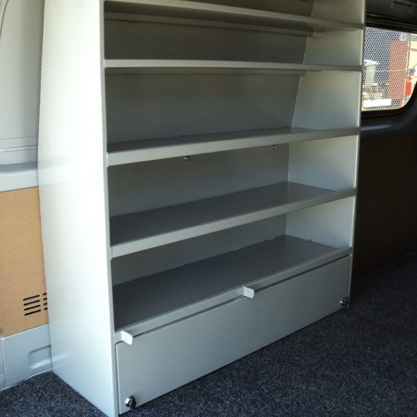 electrician van shelving 3 600x600 - Custom Build Fabrication