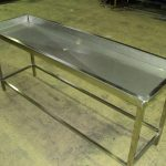 custom Stainless steel trough