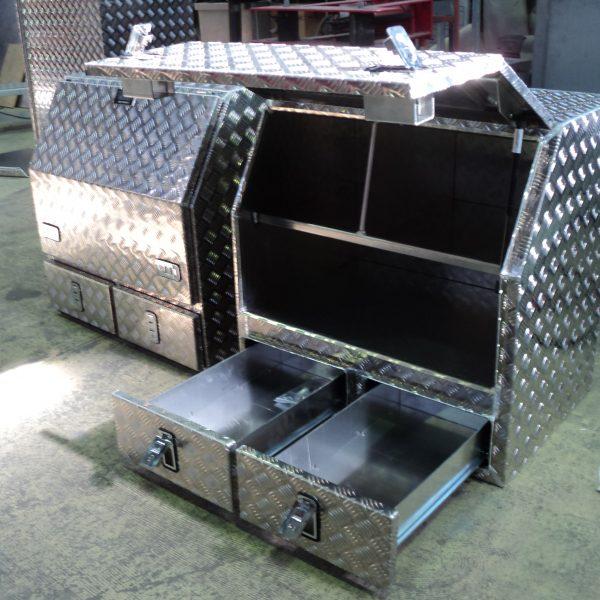 Aluminium toolboxes