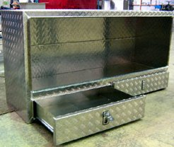 aluminium box with drawers - Toolboxes
