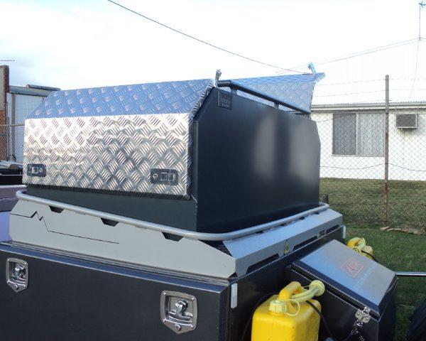 Custom storage box for camper van 17 600x480 - Canopies